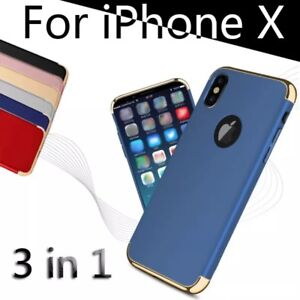 coque 3 en 1 iphone x