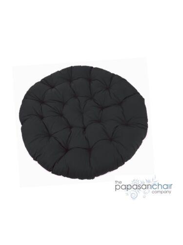 Ecru Brown Black Red Navy NEW Papasan Chair Replacement Circular Cushion