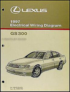 1997 Lexus GS 300 Wiring Diagram Manual Original ...