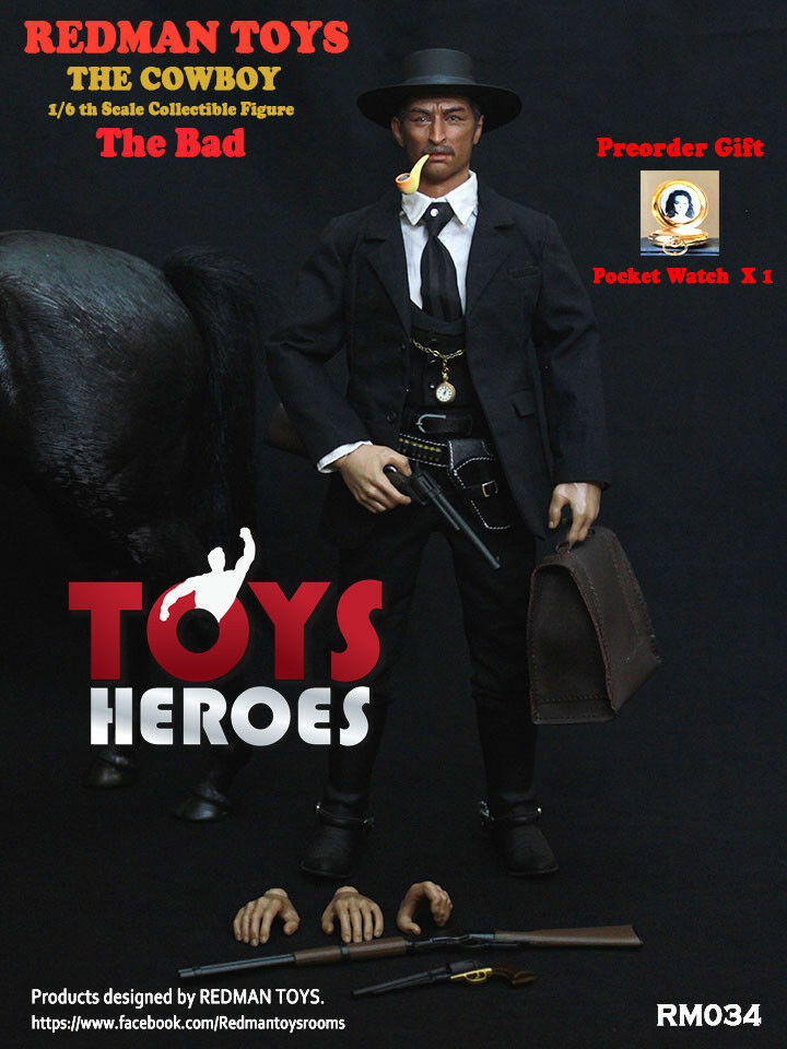 REDMAN TOYS RM034 THE COWBOY THE BAD THE GOOD THE BAD AND THE UGLY Preorder