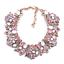 Women-Fashion-Bib-Choker-Chunk-Crystal-Statement-Necklace-Wedding-Jewelry-Set thumbnail 82