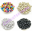 100-Pcs-8mm-Cross-Acrylic-Charm-Round-Spacer-Loose-Beads-Bracelet-Necklace thumbnail 1