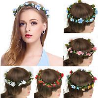 1x Boho Style Floral Flower Women Girls Hairband Headband Wedding Festival Party