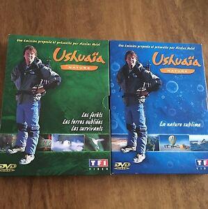 USHUAIA-NATURE-Lot-de-2-Coffrets-6-DVD