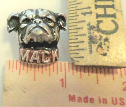 "vintage /""Mack Truck/"" pin collectible old trucker /""Bulldog/"" pinback memorabilia"