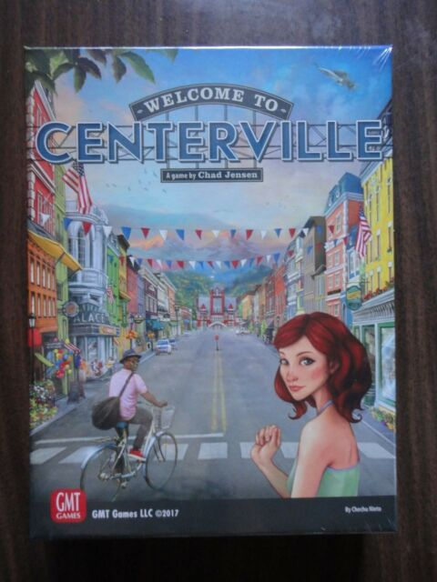 Welcome to Centerville by GMT Games 2017 mint in shrink