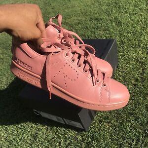 6c6edf77458 Adidas Raf Simons Stan Smith Ash Pink Dust Sand Orange Green Men s ...