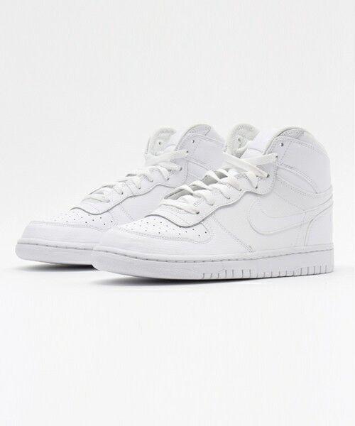 [336608-119] para hombres zapatos de baloncesto NIKE BIG NIKE alta Triple blancoo 8-13 Nuevo En Caja