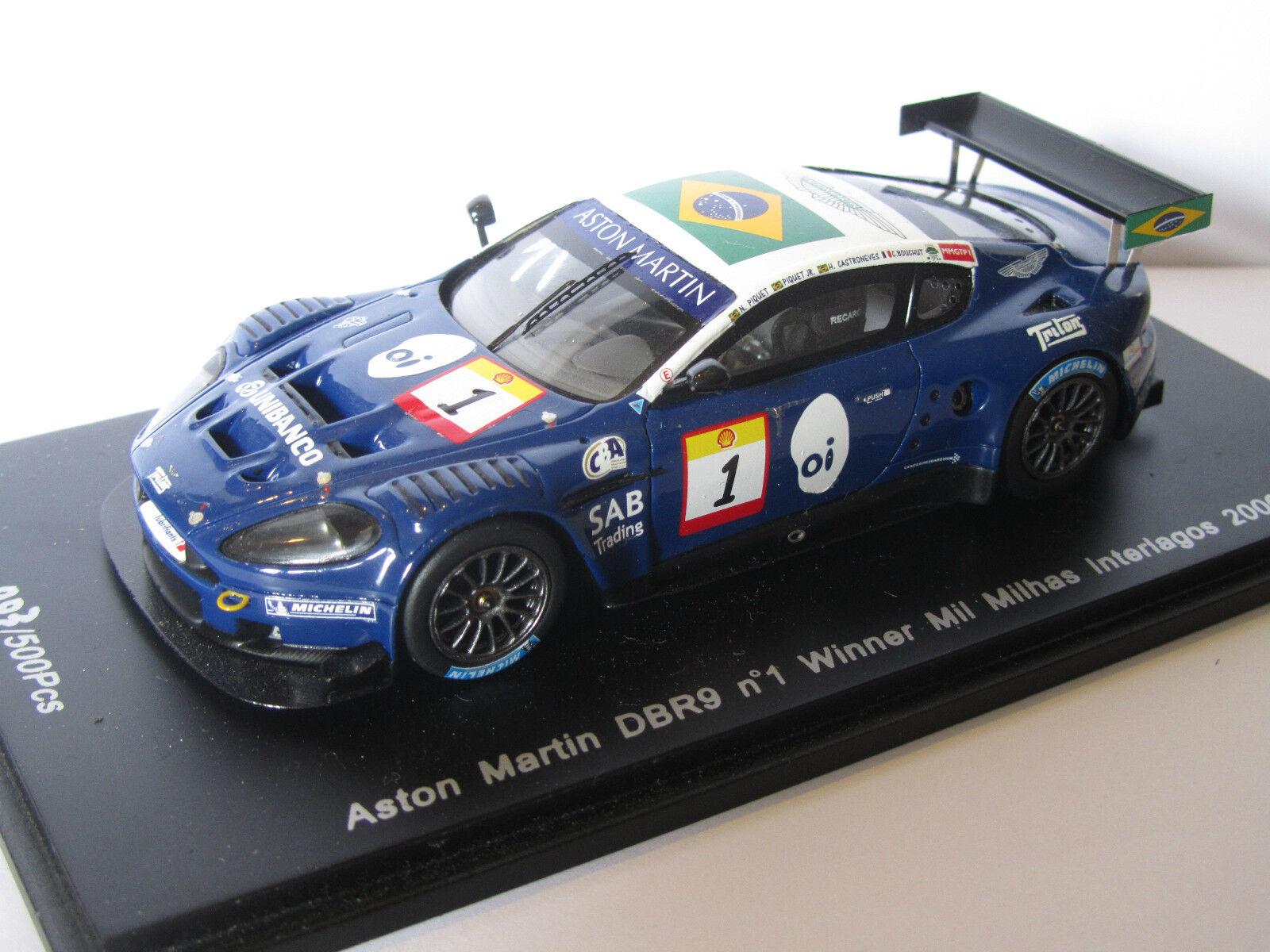 Aston Martin DBR9 n°1 Winner Mil Milhas Interlagos 2006