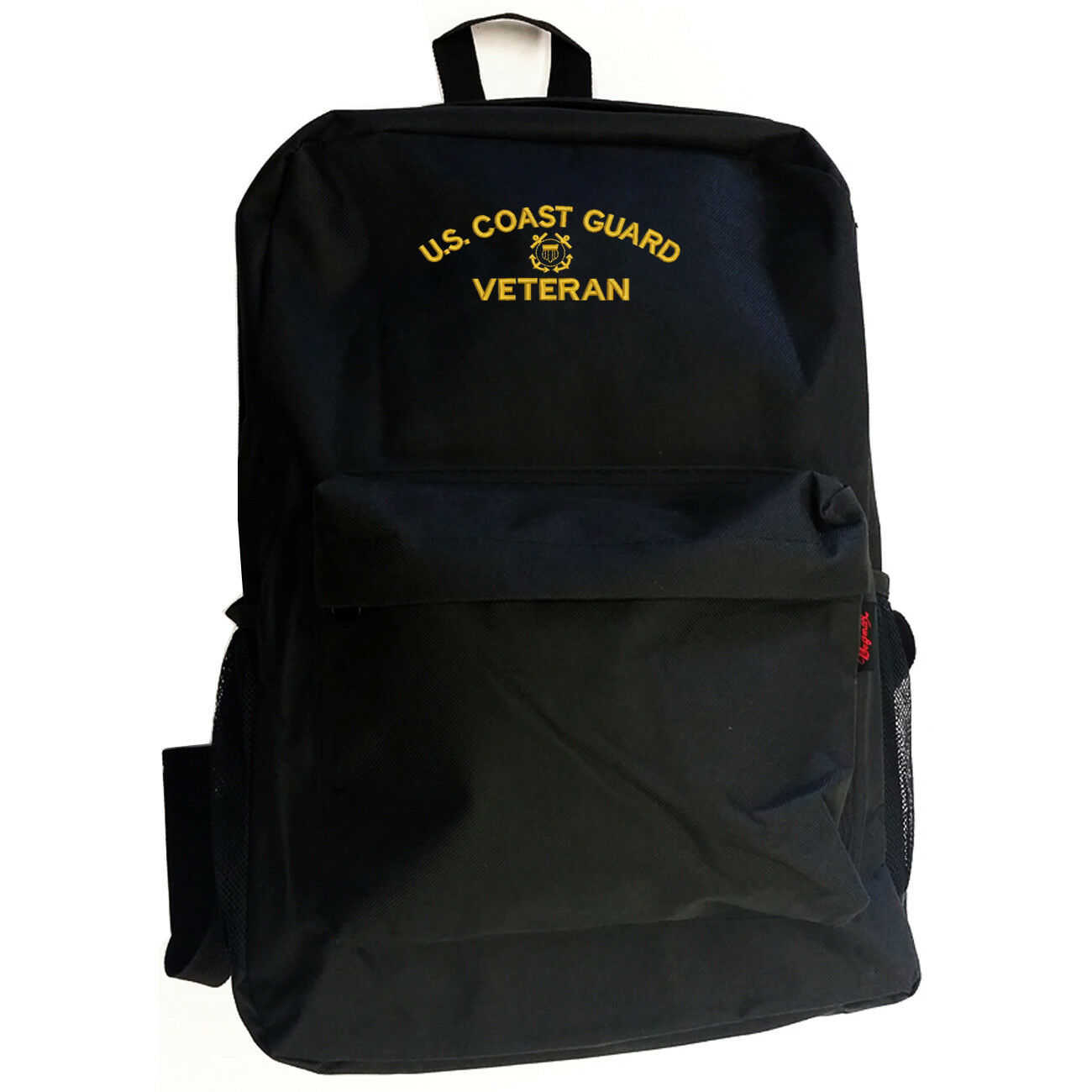 USCG VETERAN GUARD COAST GUARD VETERAN VETERAN Black Backpack Bag Hipster 9d3452