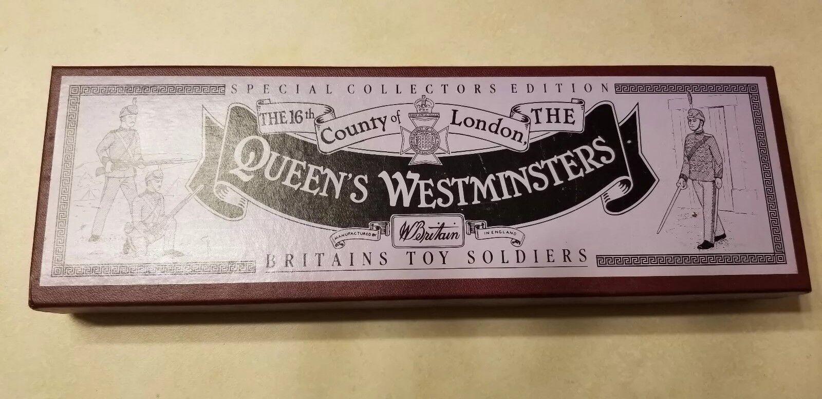 Neu Britains Kabel Soldaten Set 8827 - The Queen's Westminsters 100% Original