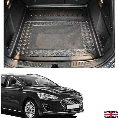Choice Of Ldpe Boot Tray Load Liner Mat Bumper Protector Ford Focus Estate 2018 Ebay