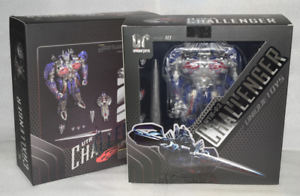 Transformers Unique speelgoeds UT R-02 Optimus Prime Commander Challenger