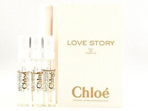 8a796e8d9b9 CHLOE LOVE STORY EDP 1.2ml .04fl oz x 3 PERFUME SPRAY SAMPLE VIAL ...