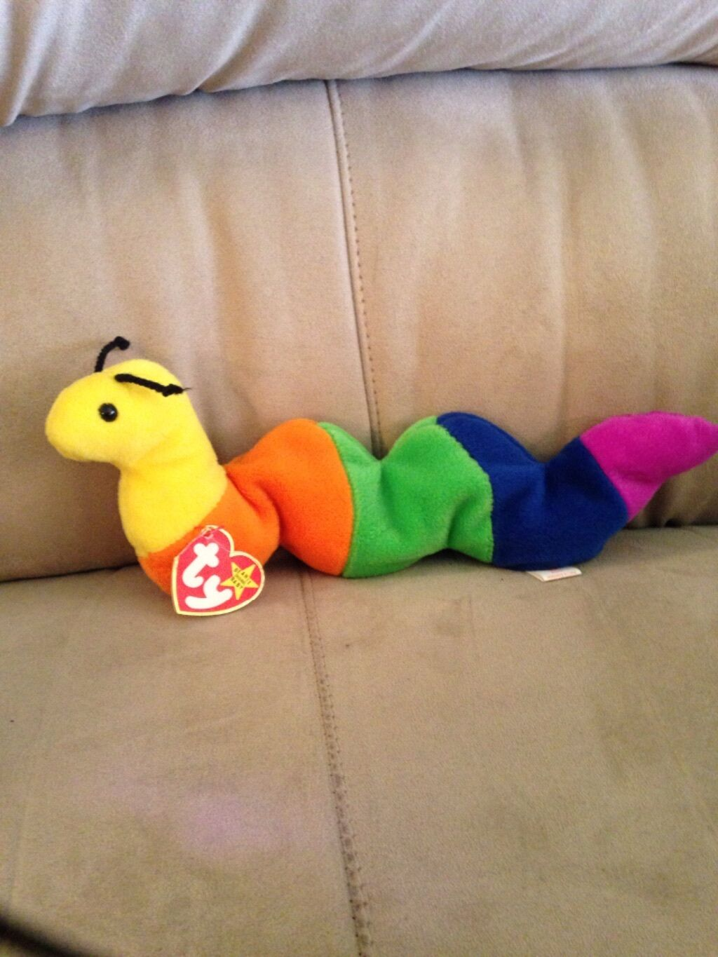Must Sell       1995 Beanie Baby Inch P.V.C. Pellets