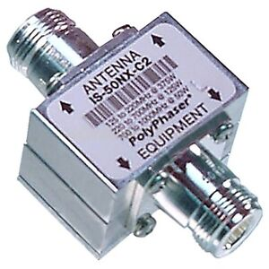 PolyPhaser IS-B50HN-C0 Lighting Protection 1.5 to 700 MHz N Female N Female