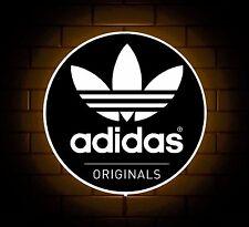 ADIDAS Originals Scarpe Da Ginnastica Con Logo Segno Negozio Luce a LED di