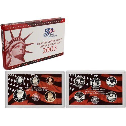 2003 United States Silver Proof Set in Original Box 1