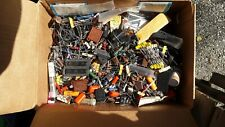 Vintage Electronic Components 10 Lot Capacitors Diodes Resisters Radial Leads