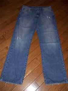 Denim 32 Cc 34 lb7 Taille Longueur Bleu Distressed Bootleg Brand Jeans Lucky Homme nxRwUYqWSv