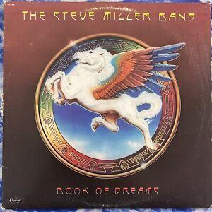 "STEVE MILLER BAND ""BOOK OF DREAMS"" ORIGINAL 1977 VINYL LP SO-11630 VG+ CONDITION"
