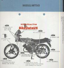 Genuine Honda MB5 MT5 MB50 MT50 (1980-1982) Factory Work Shop Manual MB MT 50