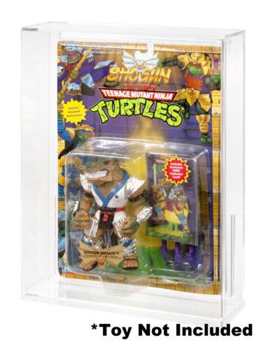 """/""""A/"""" Acrylic Display Case Teenage Mutant Ninja Turtles Playmates 1993-1999"""