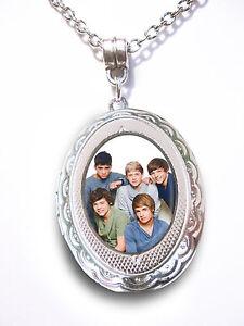 One-Direction-Silver-Plt-Pendant-Locket-Necklace-Harry-Zayn-Liam-Louis-Niall