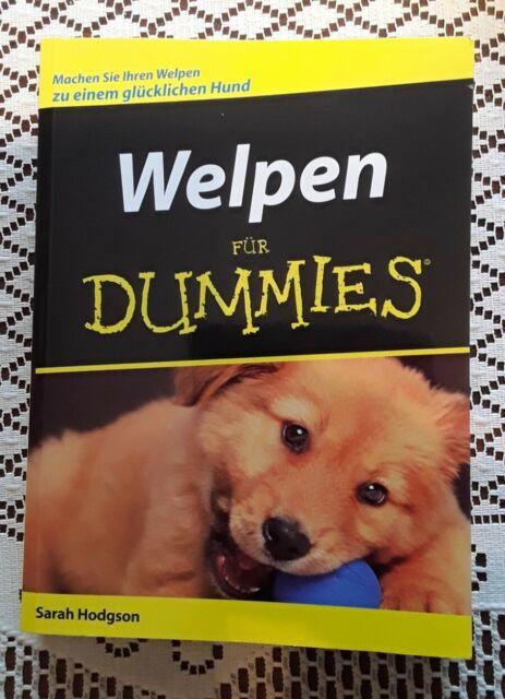 Welpen für Dummies von Sarah Hodgson (2006, Taschenbuch)