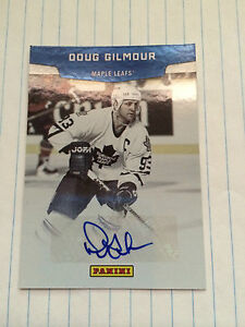 2011-12-Panini-Doug-Gilmour-Hall-Of-Fame-Autographed-Card-HOF-1