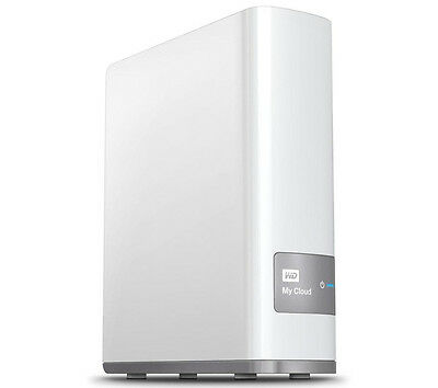 WD My Cloud Personal Cloud Storage 3TB Mobile app available USB 3.0 White