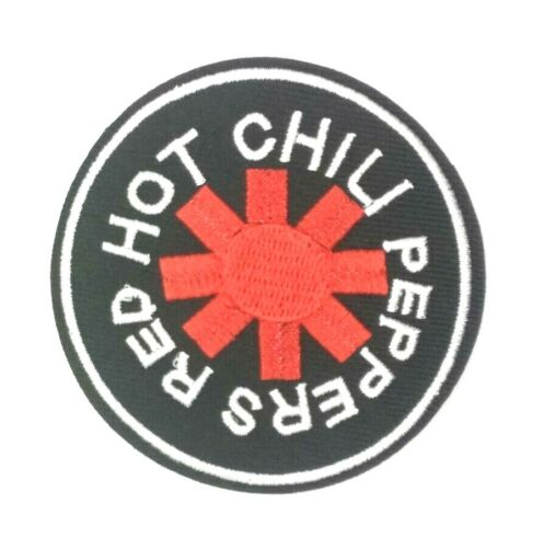 """Red Hot Chili Peppers Band Patch Rock Music Embroidered Iron On patch 1525/"""""""