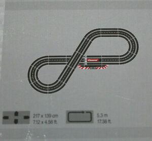 Carrera-Digital-132-124-Schienen-Ausbauset-1-8m-nach-Wahl-Kreutzweiche-Gerade
