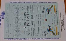 Microscale Decal 1:48 Scale #48-1014 / F-16C Falcons: 188th FS/150th FW Ddr. 482