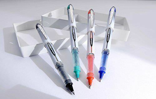 UNI-BALL VISION ELITE ROLLERBALL UB-200 FINE 0.8 mm RED INK SET