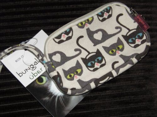 Übër Cute /& Übër Quality Bungalow 360 Cat Clutch Purse Ships Free!