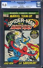 Marvel Team-Up #1 CGC 9.0 WHITE Pages Spider-Man Rescues Misty Knight = 1st App!