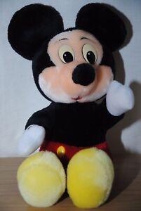 Disney-Parks-Vintage-11-Polegadas-Mickey-Mouse-Brinquedo-De-Pelucia-Macia