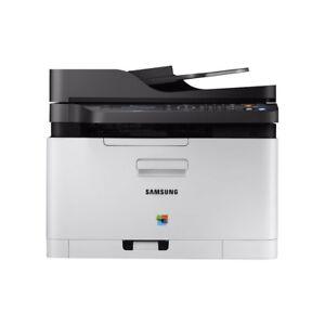 Samsung-Xpress-SL-C480FW-Multifunktionsdrucker-Farb-Laser-Kopierer-Scanner-Fax