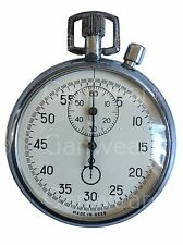 Rare Vintage Old AGAT 2-button Soviet STOP WATCH USSR Zlatoust 1980s 16 jewels