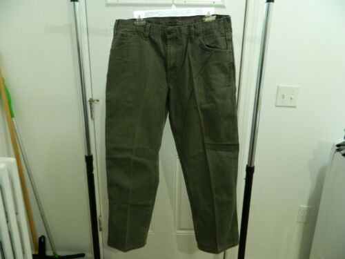 Dickie's Carpenter Men's Work Pants Olive Army Gre