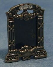 Metal Photo Frame, Dolls House Miniature, 1.12 Scale, Mantel Piece Accessory