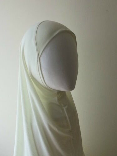 Womens ladies Hijab Khimar scarf stole black one Piece lot **BUY 4 GET 1 FREE**