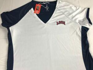 Loyola Marymount Shirt Womens Small Dri-Fit V-Neck Athletic Alumni LMU Grad NEW