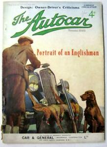 AUTOCAR-28-Oct-1938-Original-Motoring-Car-Magazine