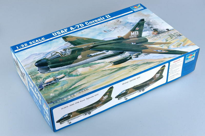 Trumpeter 1 32 02245 A-7D Corsair II