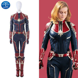 Ms Marvel Costume Leather Captain Marvel Carol Danvers Cosplay Halloween Outfits Ebay A wide variety of captain black costume options are available to you, such as supply type, material, and gender. details about ms marvel costume leather captain marvel carol danvers cosplay halloween outfits