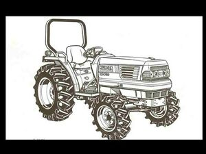 s l300 kubota g1800 tractor parts manual 100pgs for g 1800 tractor repair