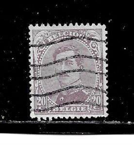 Belgium Stamps Scott 114 A46 20c Canc Lh 1915 20 Ng Ebay
