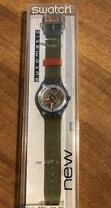 Orologio Swatch Blue Matic SAN100 Automatic. Nuovo- Vintage 1992.Raro Collezione